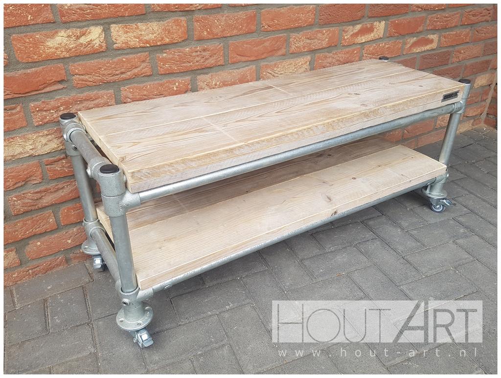 Luxe Tv Meubel : Luxe steigerhouten tv meubel luxe steigerhouten meubels op maat